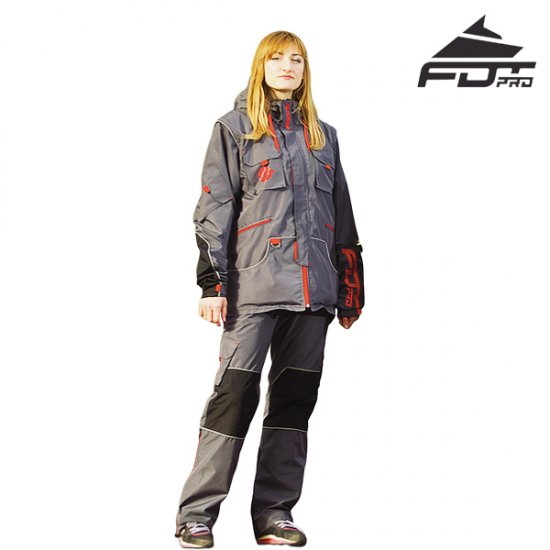 "FDT Pro ""Dress'n'Go"" Any Weather Waterproof Tracksuit for Outdoor Activities"