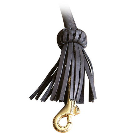 Easy-to-Use Snap Hook on Leather Dog Leash