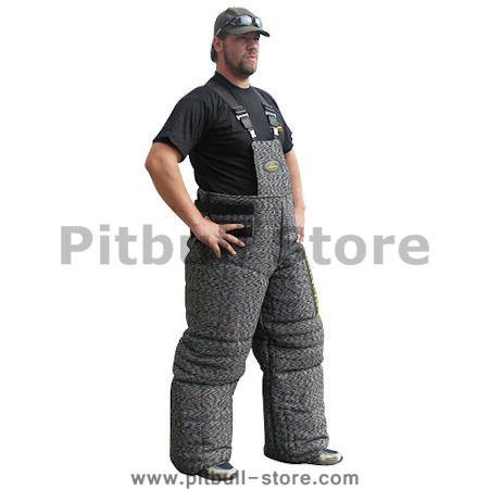Handcrafted Heavy Bite Pants of Pitbull Bite Suit for Training Sessions