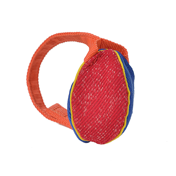 Colorful Design XS French Linen Bite Tug for Training and Playing