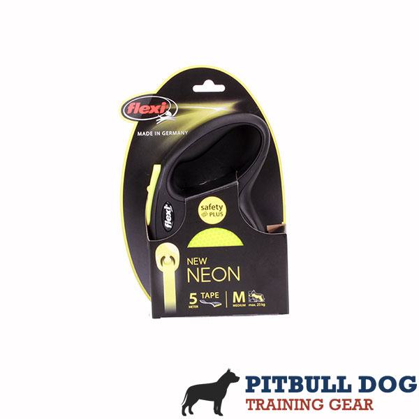 Retractable Leash with Comfortable Strong Chrome Plated Snap Hook