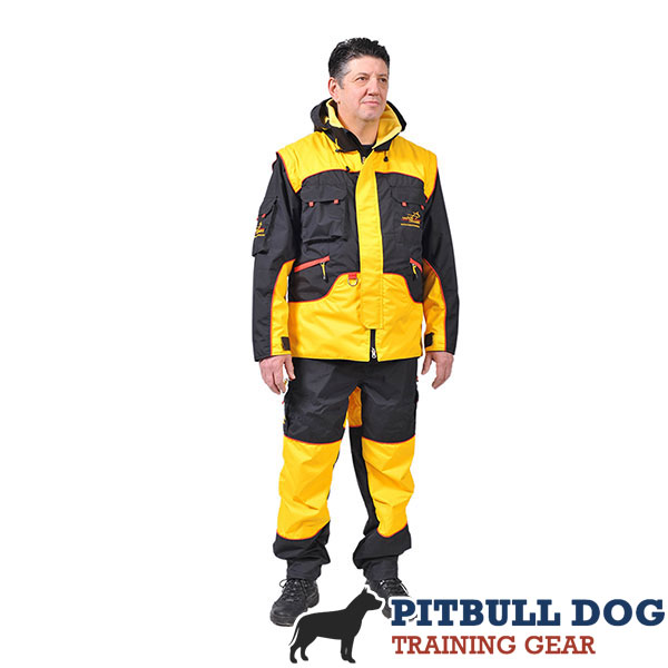 Protection Dog Training Suit of Waterproof Membrane Fabric