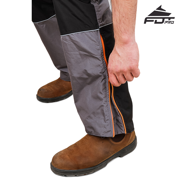 FDT Pro Design Dog Tracking Pants with Strong Zippers
