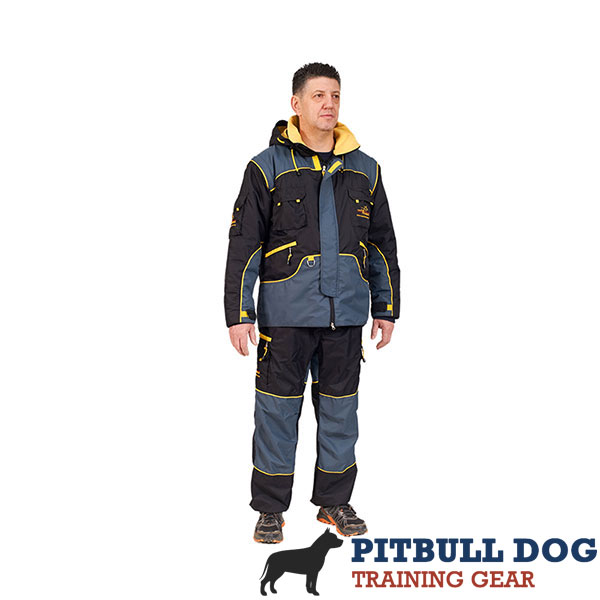 Weatherproof Protection Dog Bite Suit for Dog Training