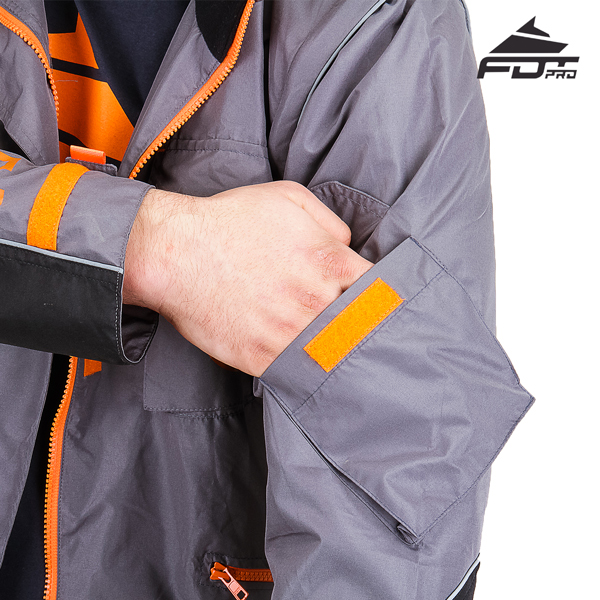 Reliable Sleeve Pocket on FDT Pro Design Dog Training Jacket