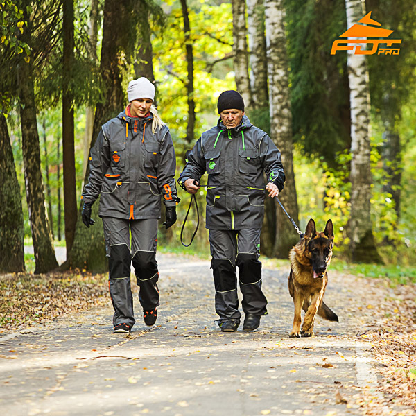 Unisex Best quality Dog Training Suit for Men and Women with Reflective Strap