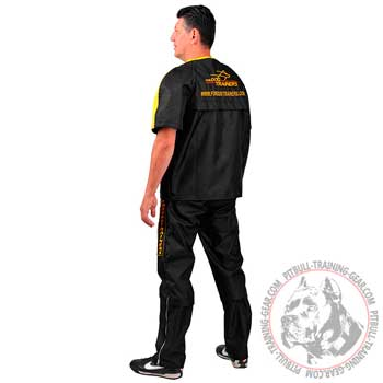 Protection Nylon Pitbull Scratch Suit with Easily Removable Sleeves