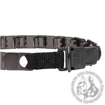 Plastic Click Lock Buckle of Pitbull Dog Training Collar
