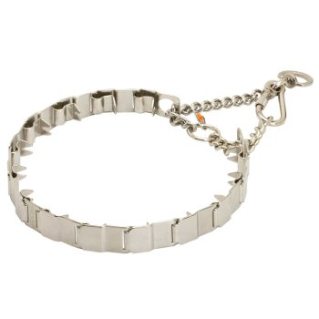 Stainless Steel Pitbull Prong Collar Neck Tech