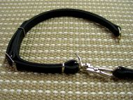 Leather Pitbull Collar and Leash Combo for Police Service and Hunting