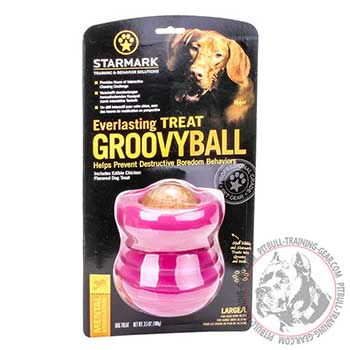 Dog Toy Rubber Ball for Pitbull Training and Playing