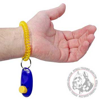 Pit Bull Compact Training Clicker Made of Plastic