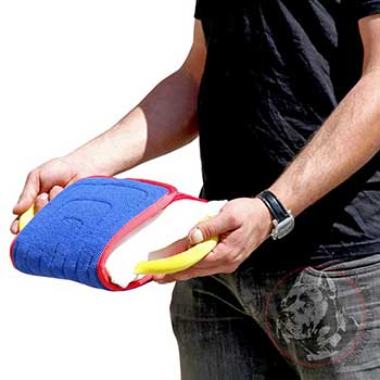 Dog Bite Pad with 3 handles for Pit Bull Training