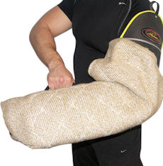 Professional Pitbull Bite Protection Sleeve with Jute Cover