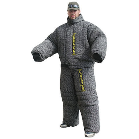 Heavy-Duty Full Body Protection Pitbull Bite Suit for Training